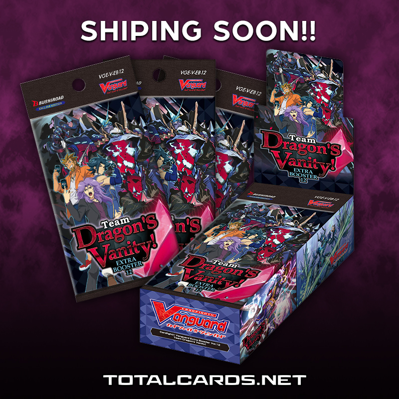 Cardfight! Vangard Set Team Dragon's Vanity! Shipping Now!!!