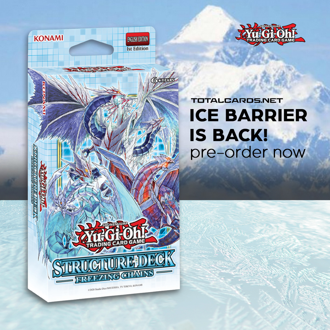 Yu-Gi-Oh! Freezing Chains Structure Deck Available for Pre-order