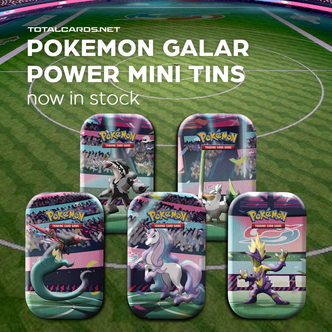Pokemon - Galar Power Mini Tins In stock now