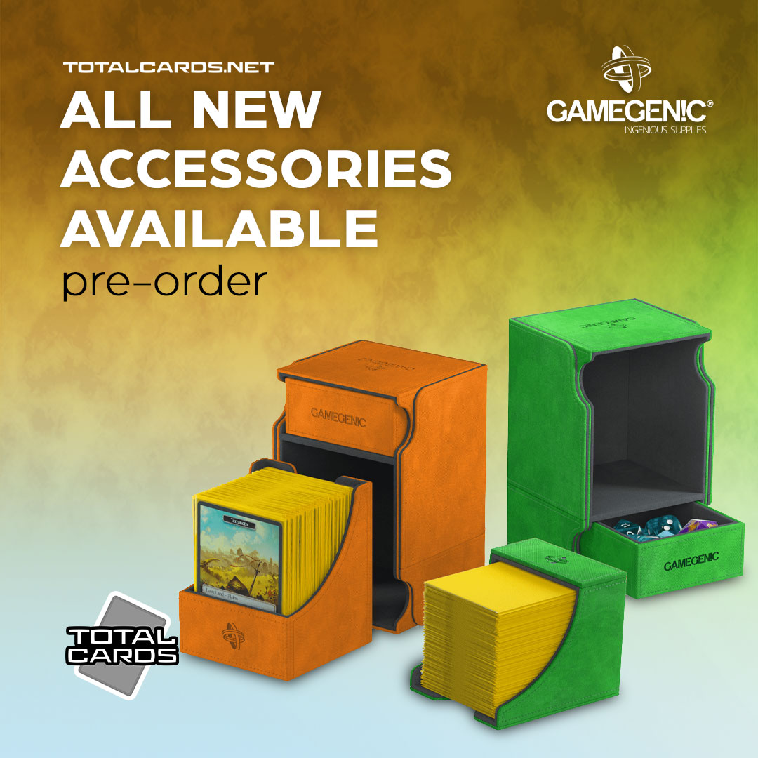 Gamegenic Accessories Available to Pre-Order