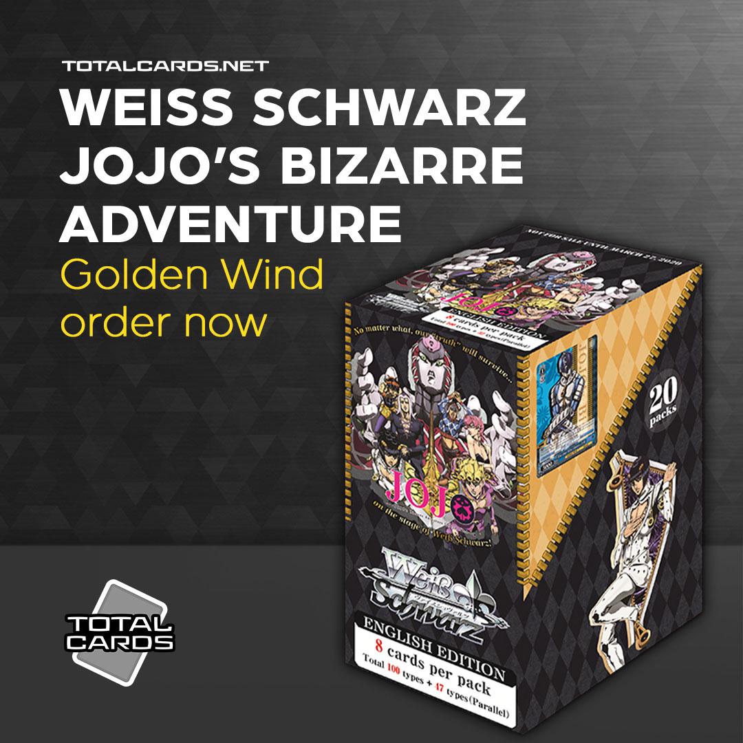 Weiss Schwarz Jojo's Bizarre Adventure Golden Wind is out Next Week!!!