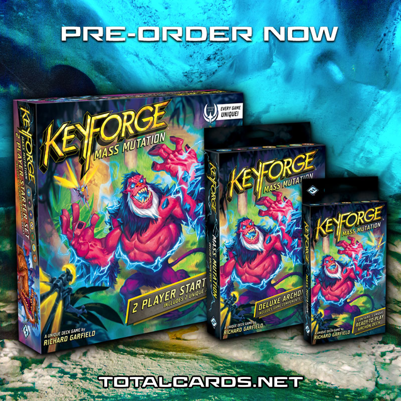 Keyforge Mass Mutation Now Available to Pre-Order!!!