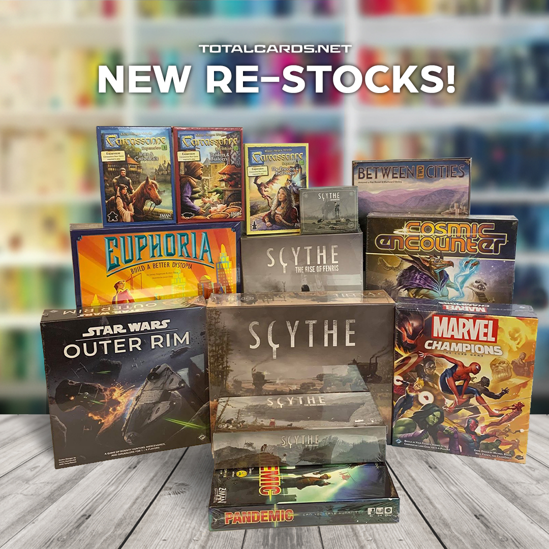 Many New Board Games Now In Stock!