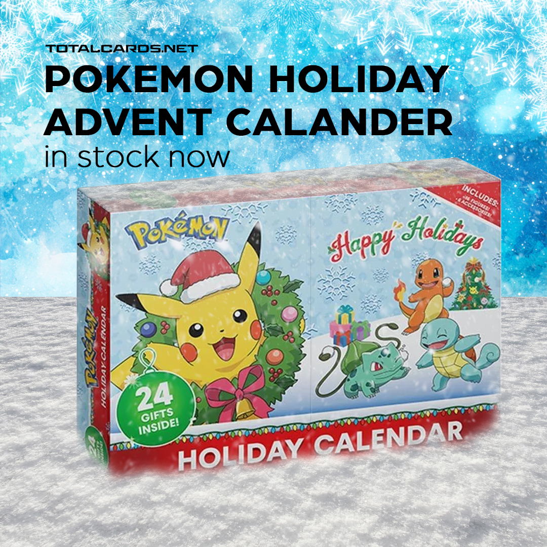 Pokémon Holiday Calendar is in Stock Now!