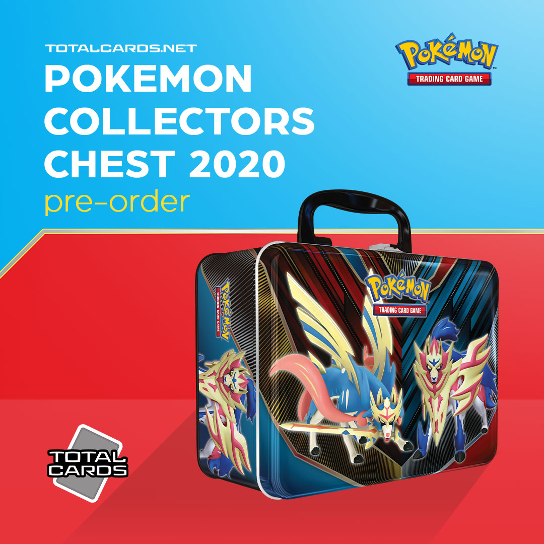 Pokemon Collectors Chest 2020 is out on the 3rd of April!!!