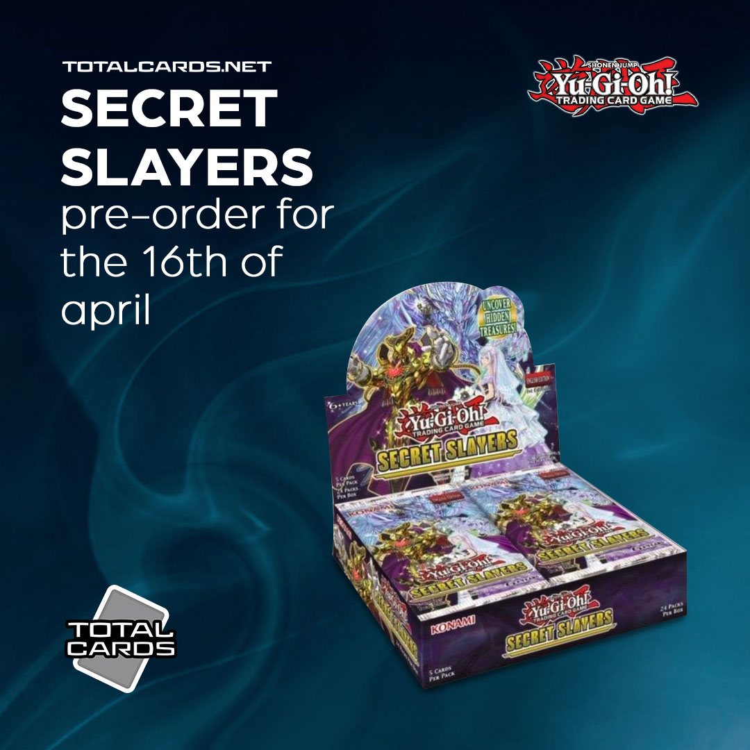Yu-Gi-Oh! Secret Slayers New Release Date is the 16th of April