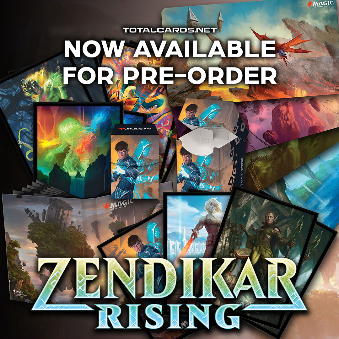 Magic the Gathering Zendikar Rising Accessories Now Available to Pre-Order!!!