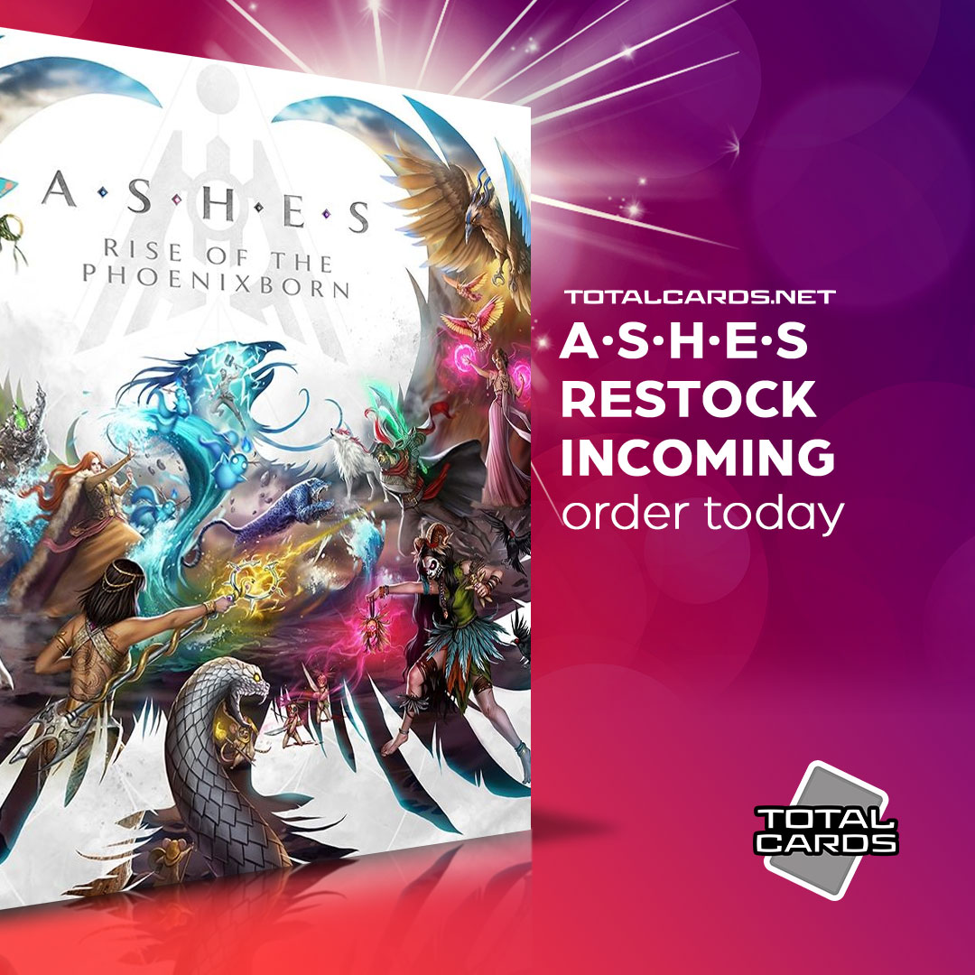 Ashes - In Stock Now!