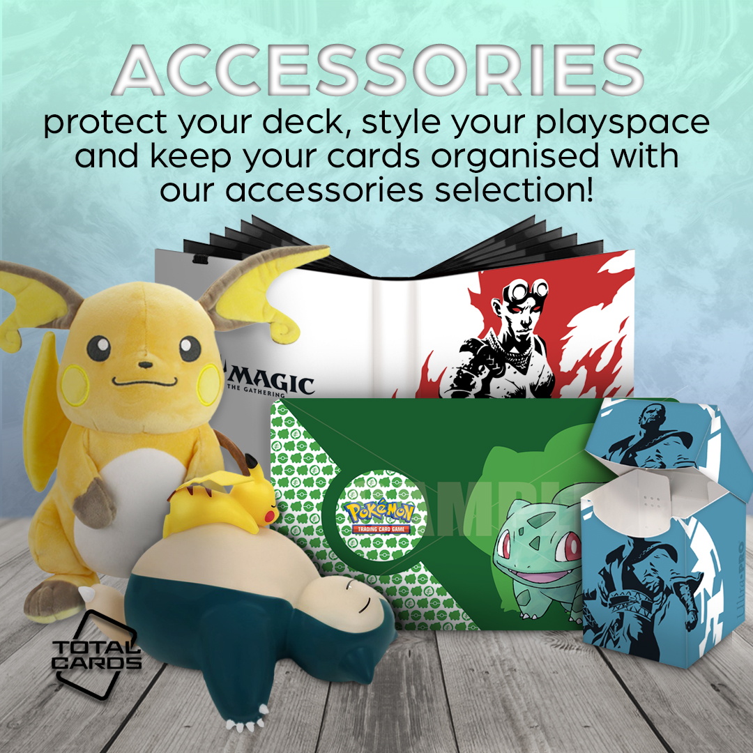 Keep your cards safe with an array of accessories!