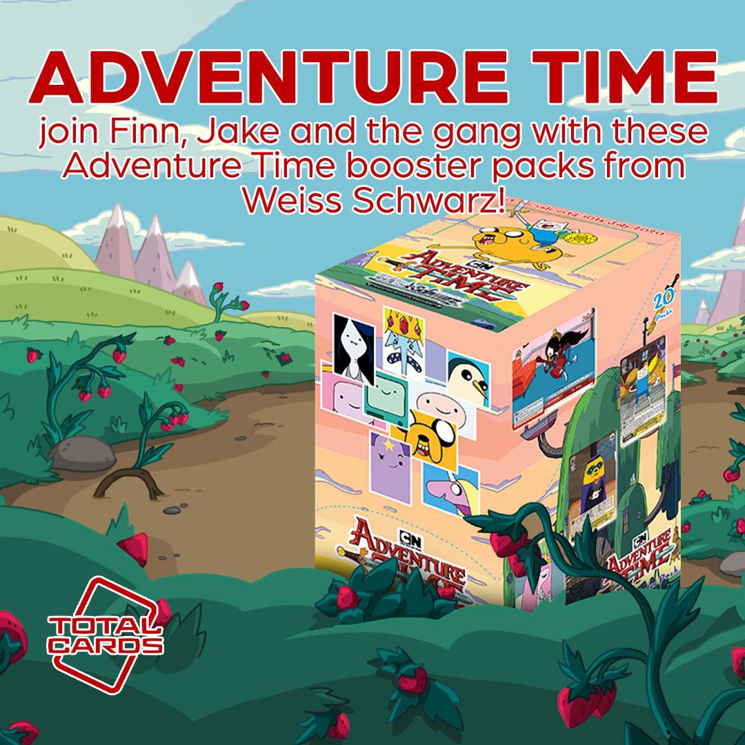 Dive into Adventure Time with this awesome set from Weiss Schwarz!