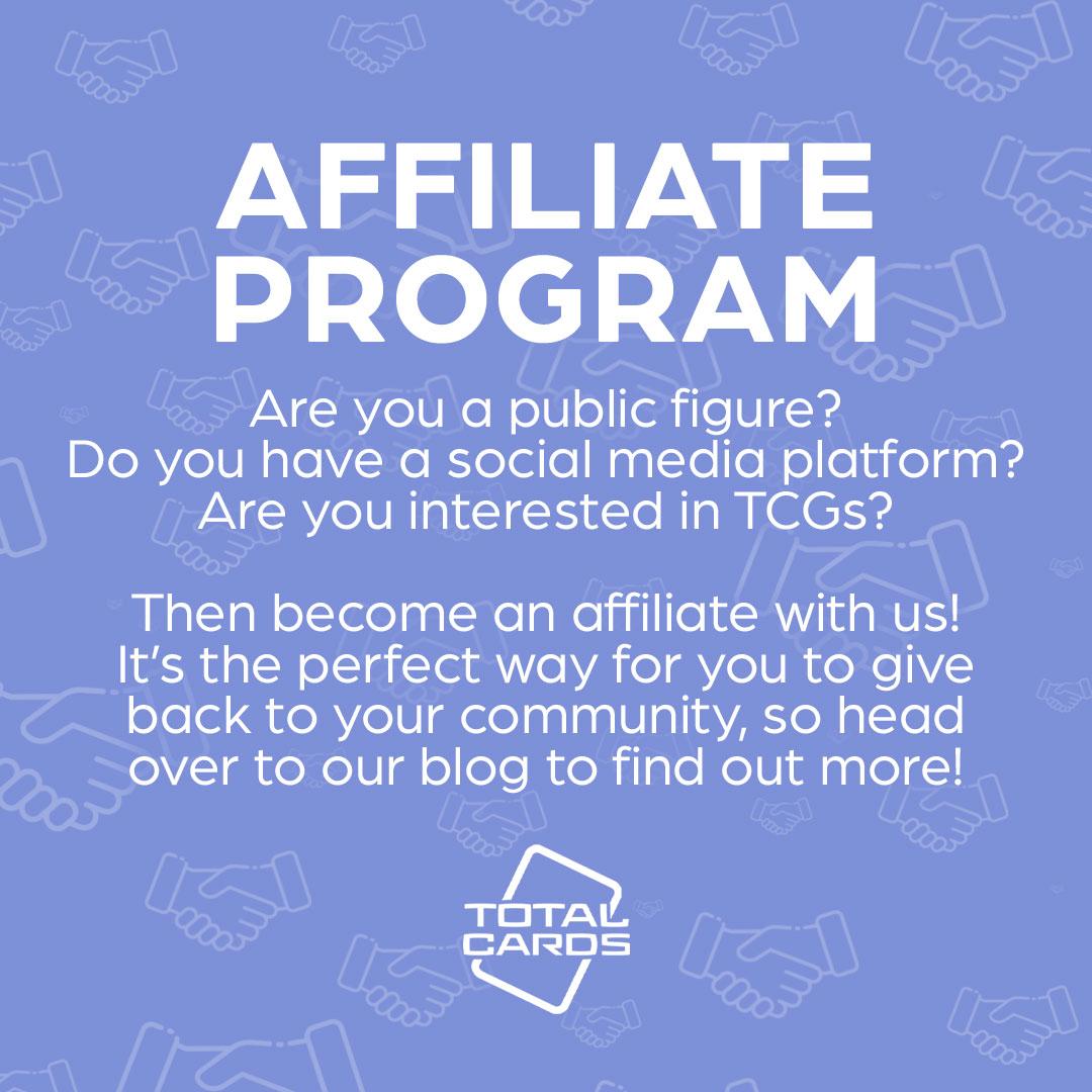 Enter our affiliate program!