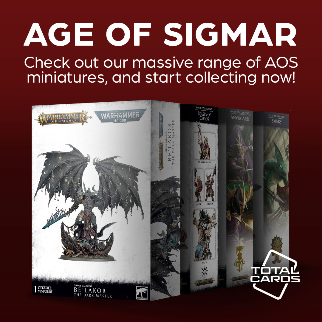 Enter the fantasy world of Age of Sigmar!