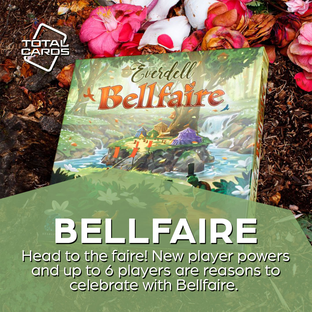 Expand Everdell with the Bellfaire expansion!