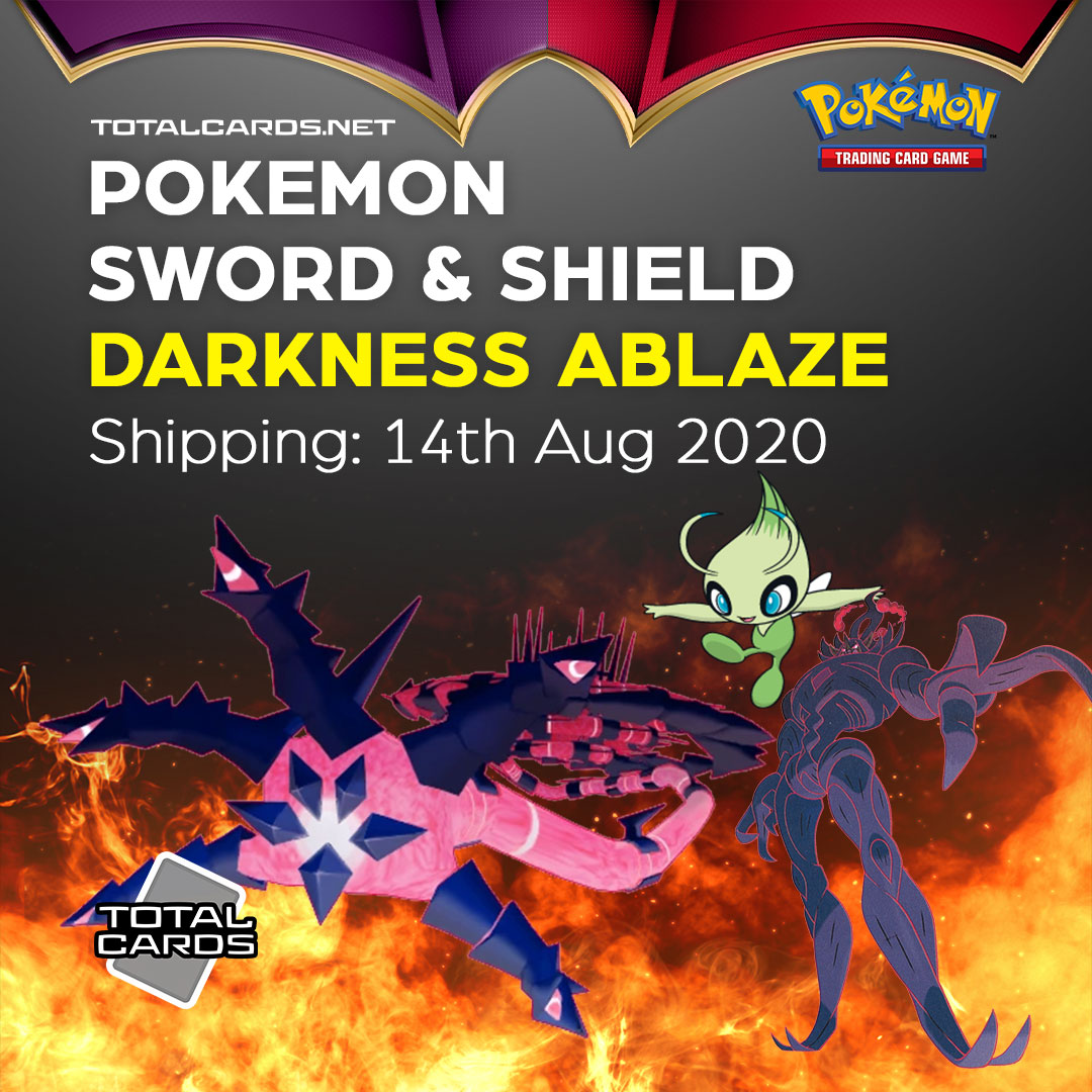 "Pokemon Sword & Shield 3 Set Name Revealed ""Darkness Ablaze"" and NEW types of Products"