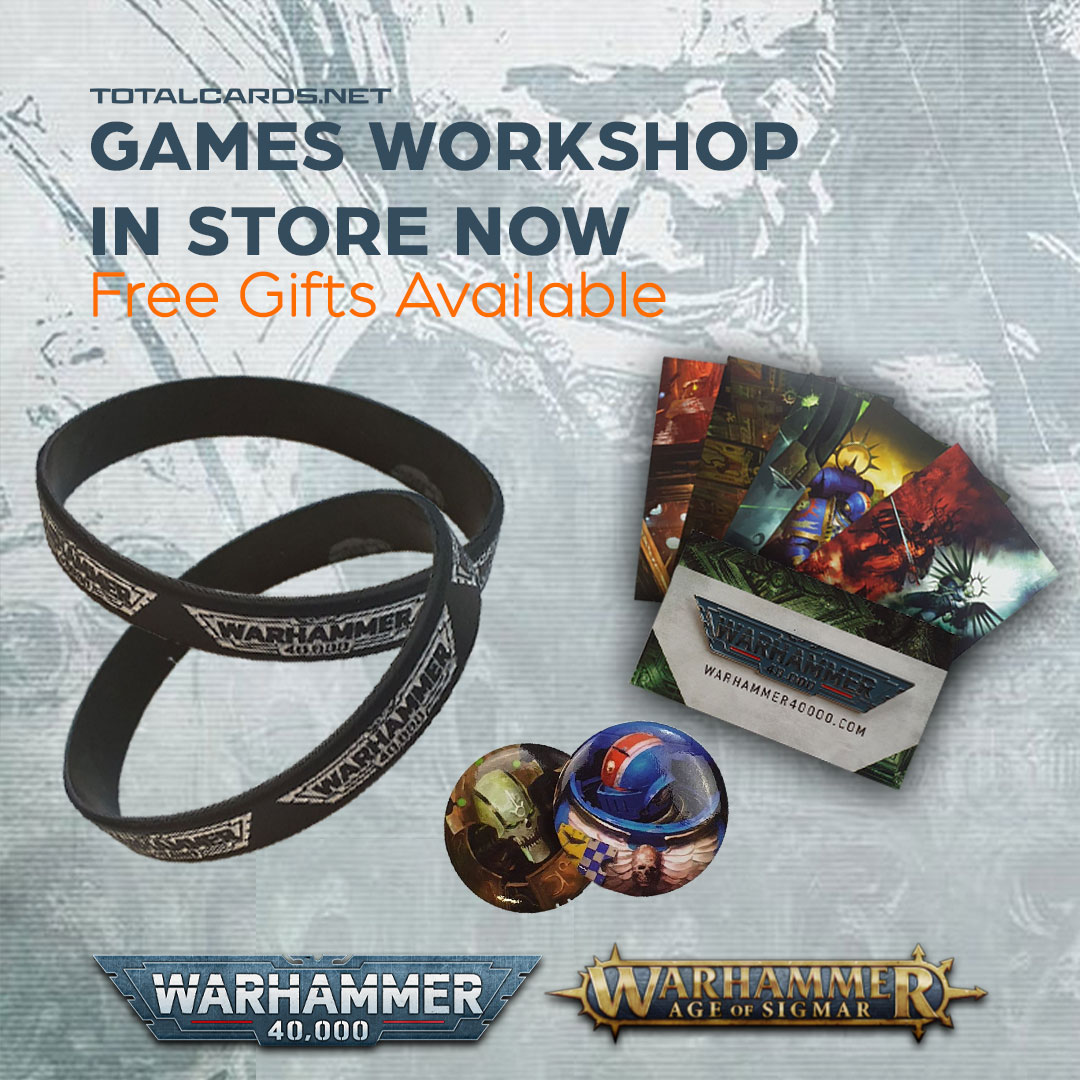 Free Warhammer Gifts With All Store Collections!