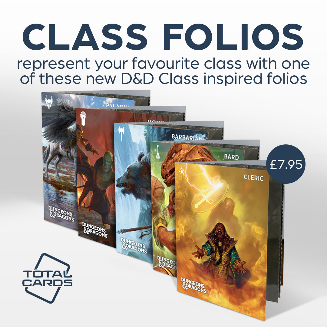 Enhance your D&D experience with Class Folio's from Ultra Pro!