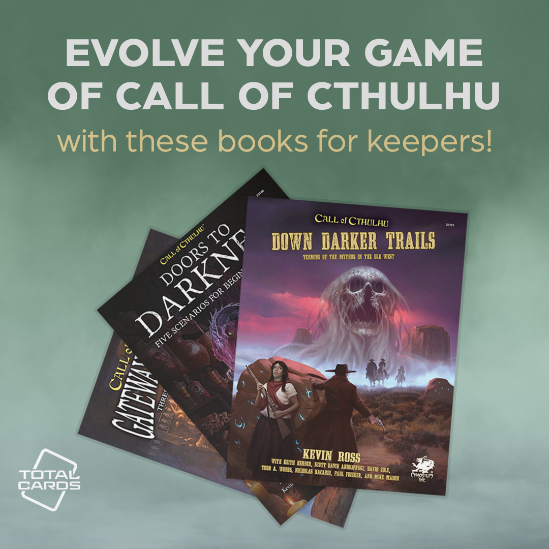 Evolve your Call of Cthulhu game with these epic sourcebooks