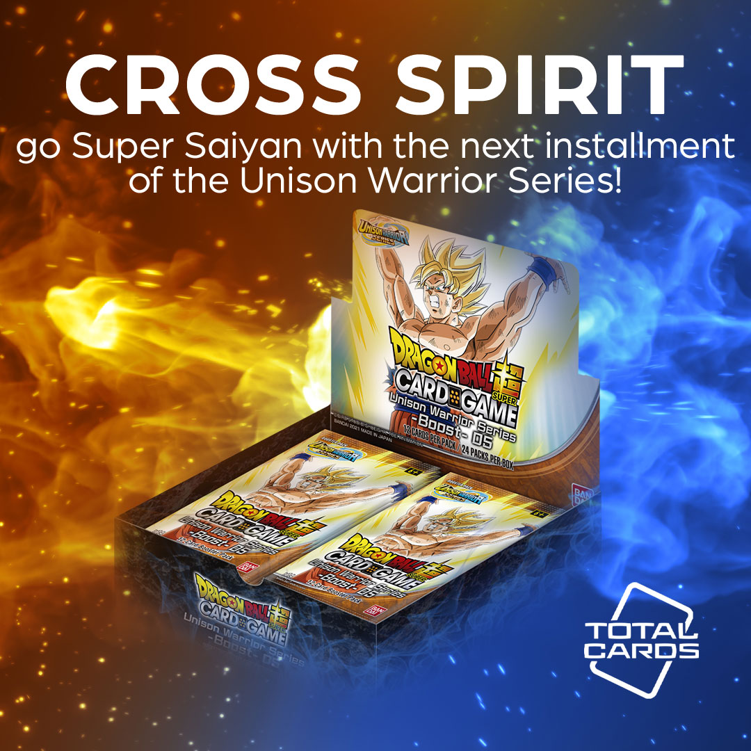 Go to the next level with Cross Spirits from Dragon Ball Super!