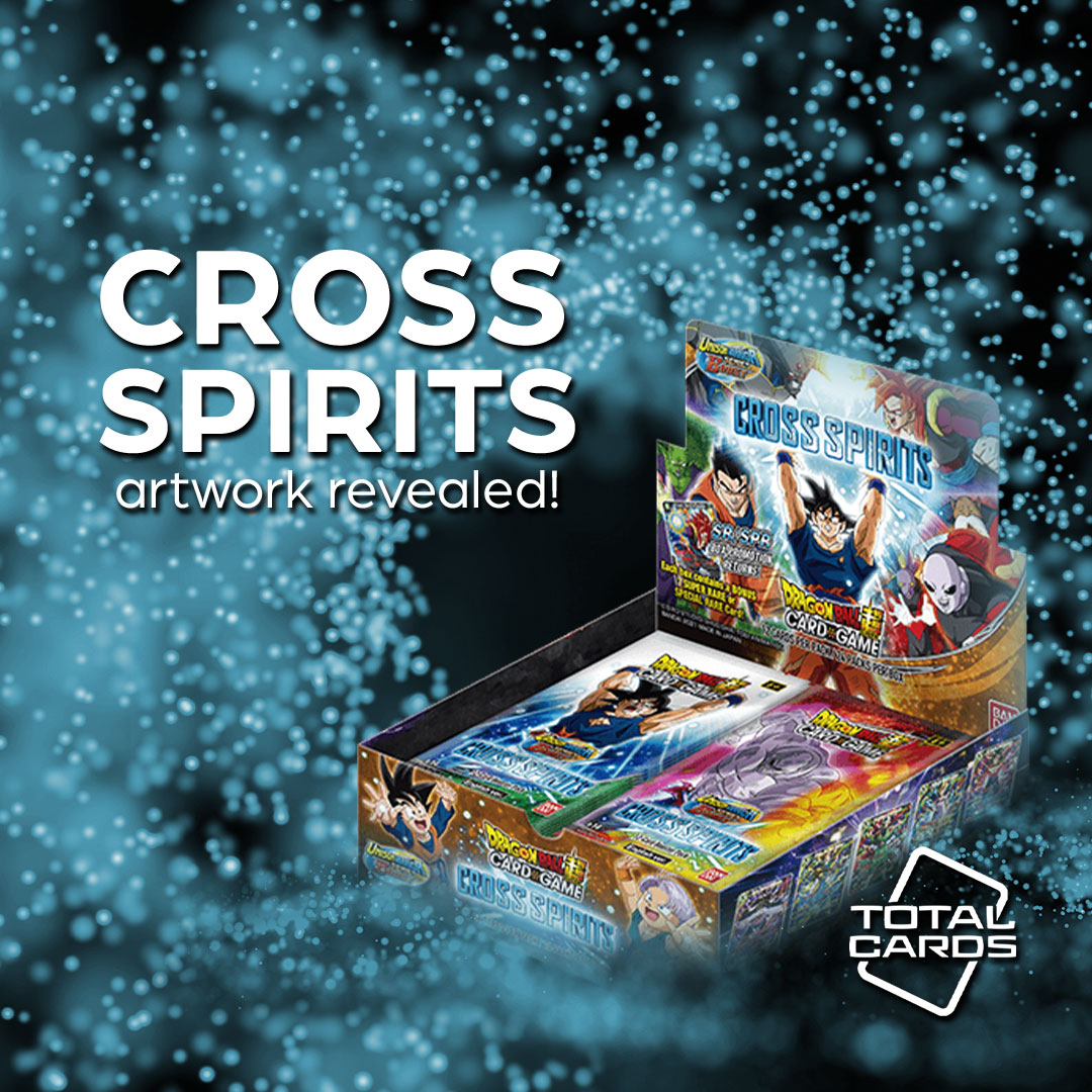 Art revealed for the Dragon Ball Super Cross Spirits expansion!
