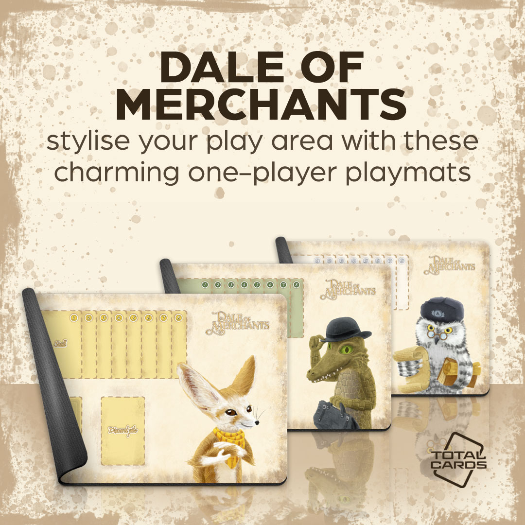 Dale of Merchants Playmats are Here!