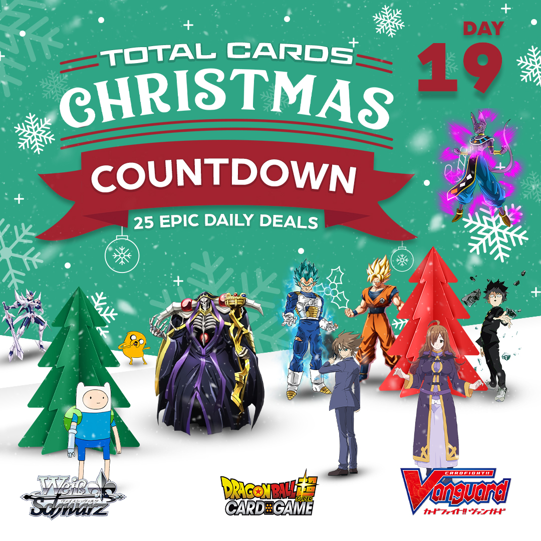 Christmas Countdown Day 19 - Weiss Schwarz, Dragon Ball and CardFight!!