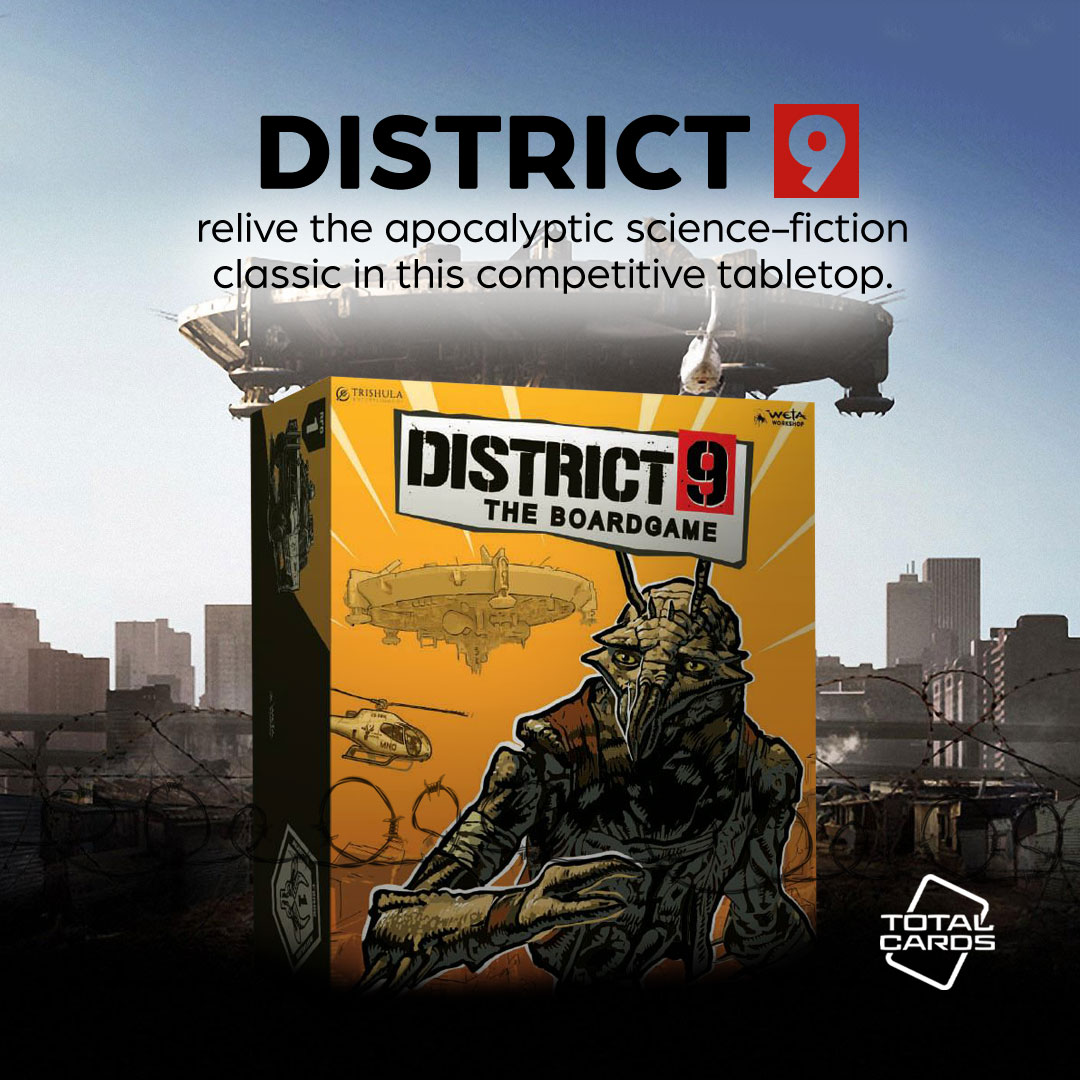Take control with District 9 - the board game!