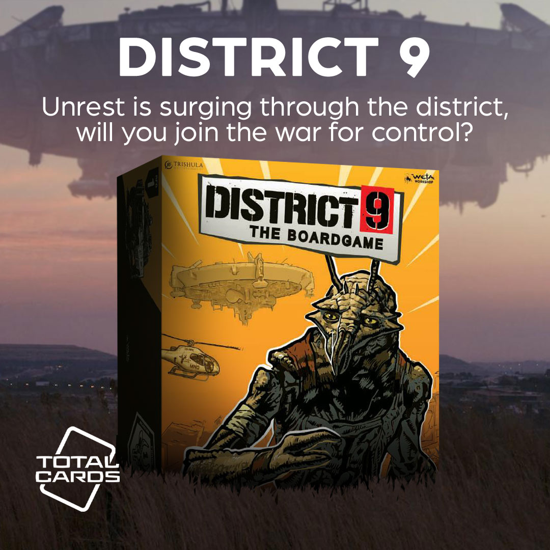 Head to District 9 in this epic board game!