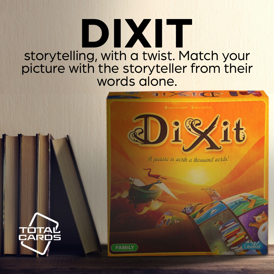 Engage your imagination with Dixit!