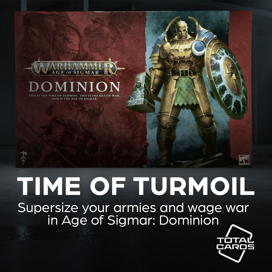 Start Collecting Age of Sigmar with the new Dominion box!