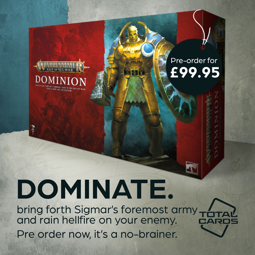 Enter into the world of Age of Sigmar with the new Dominion box!