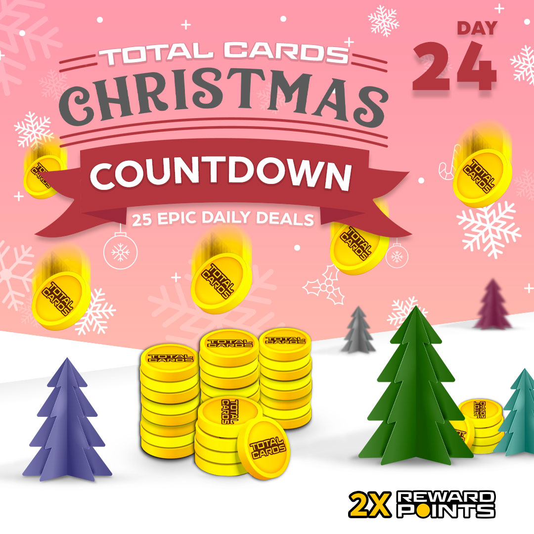 Christmas Countdown day 24 - Double Points!