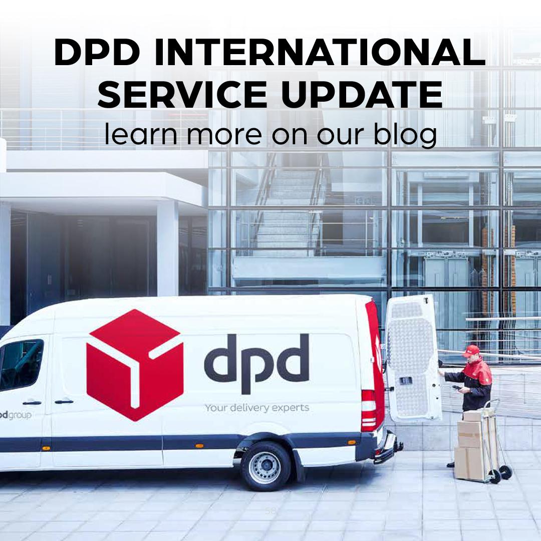 DPD International Service Update 8th Jan 2021
