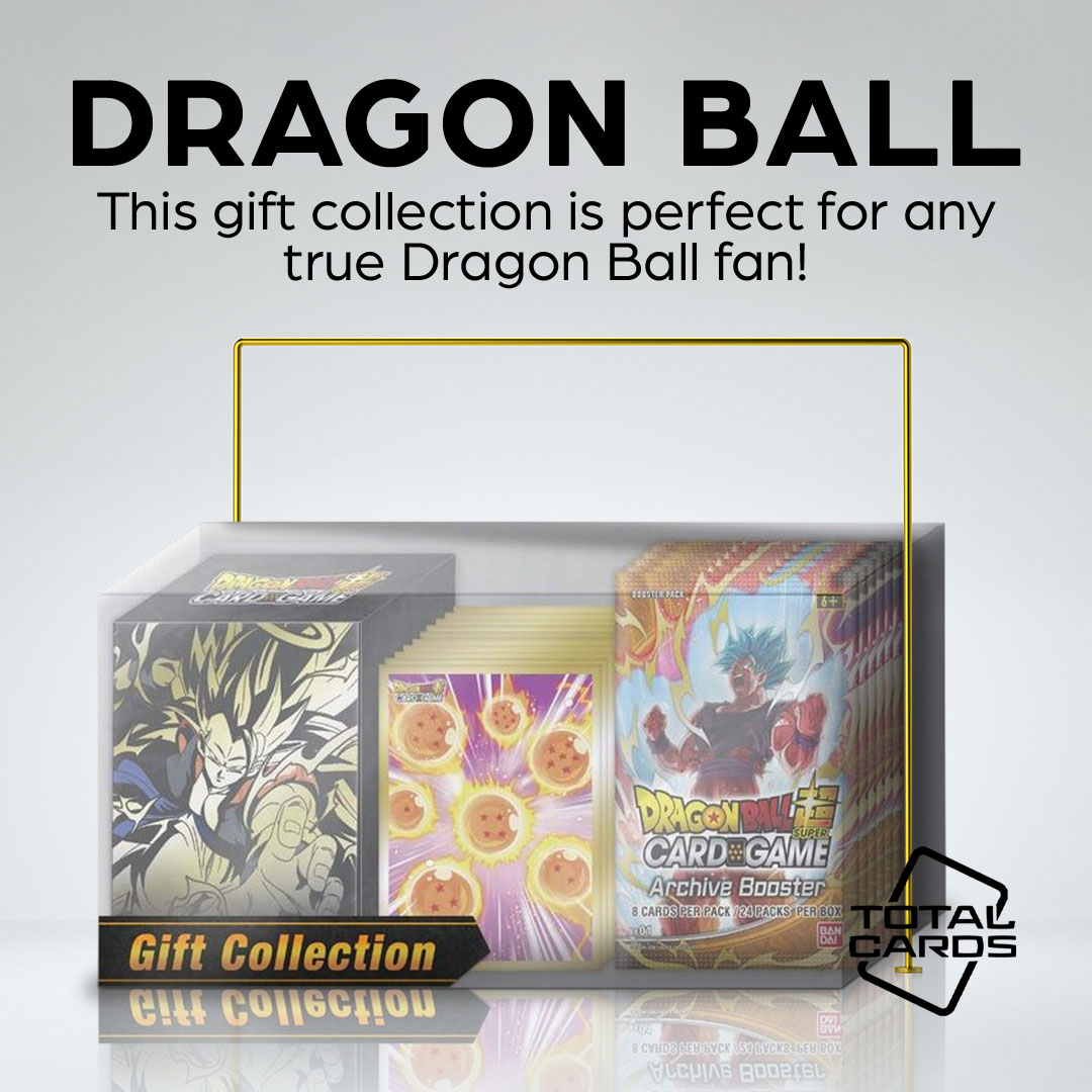 Experience Archive set with the Dragon Ball Super Card Game - GC01 Gift Collection!