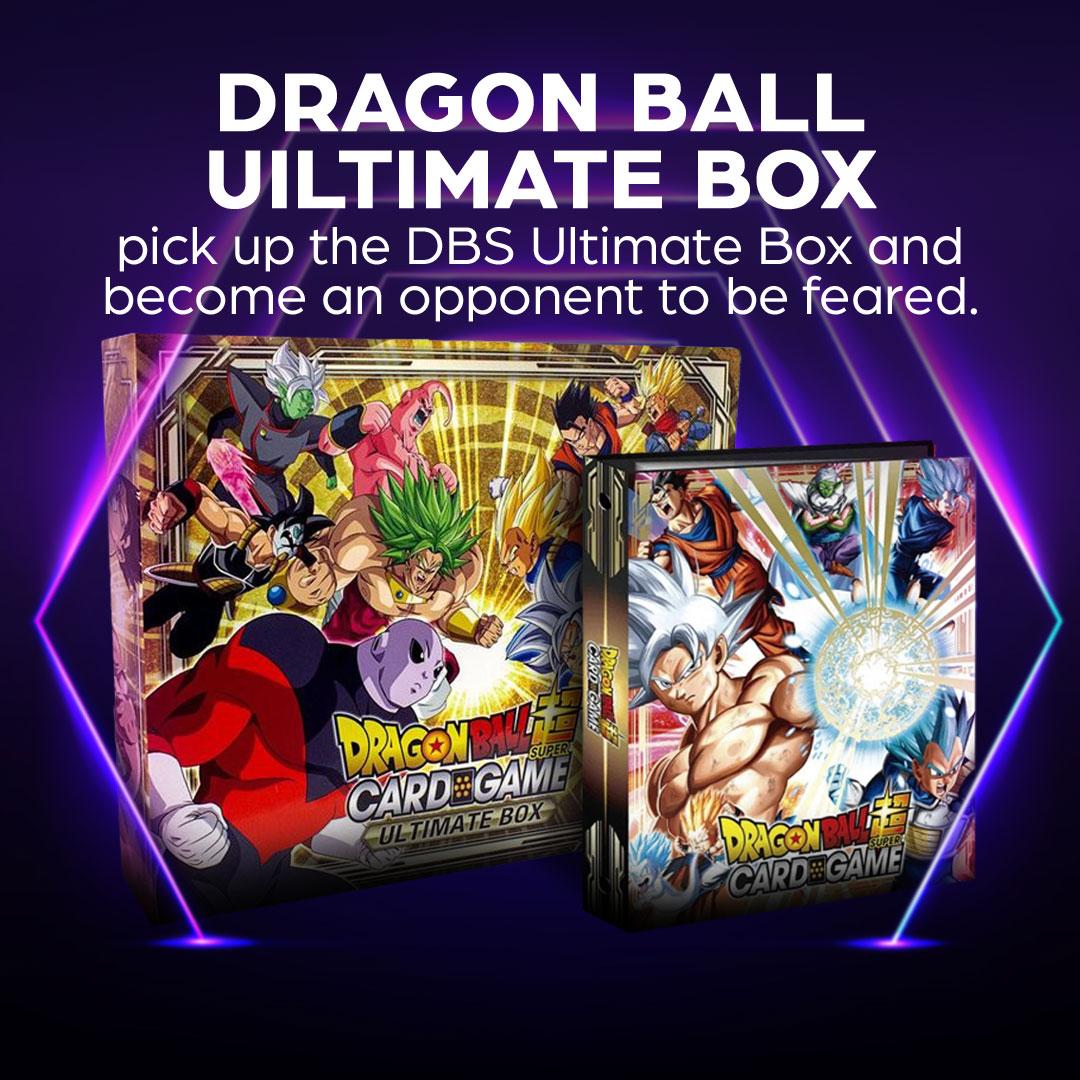 Go Super Saiyan with the Dragon Ball Super Ultimate Box!