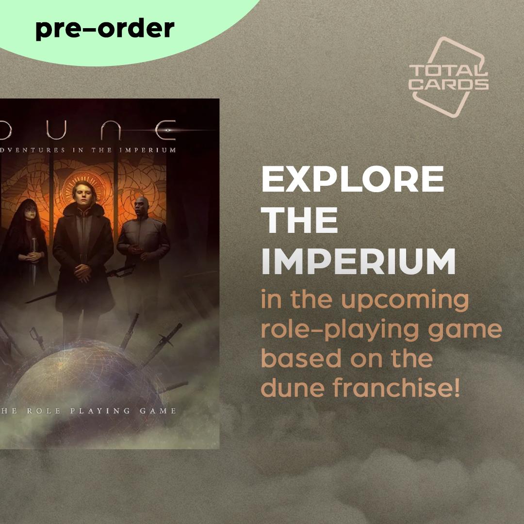 Explore the imperium in the upcoming Dune RPG!