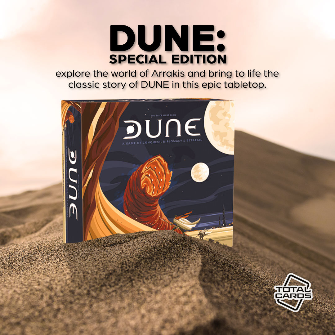 Vie for control of the spice in the epic Dune boardgame!