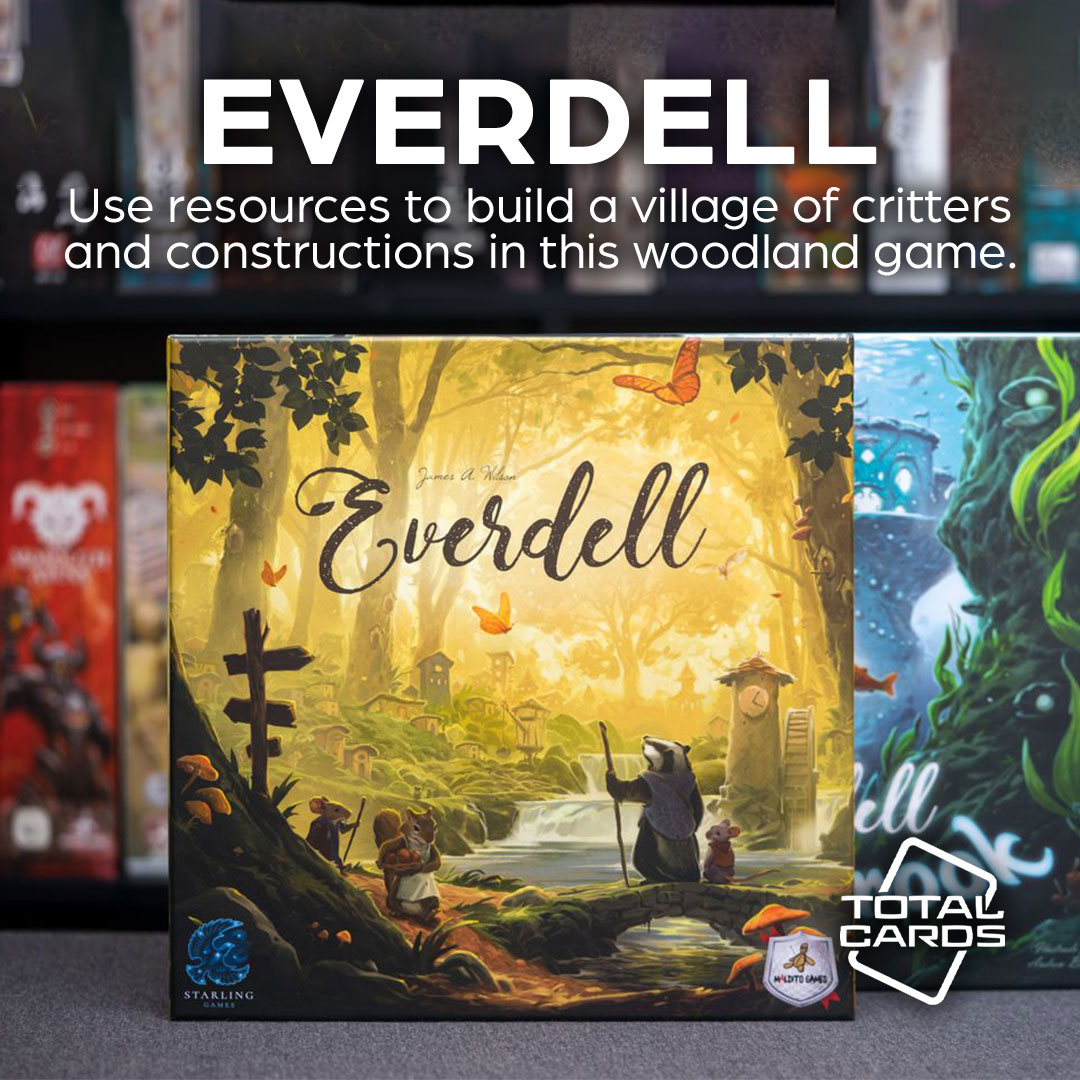 Find a new home in the game of Everdell!