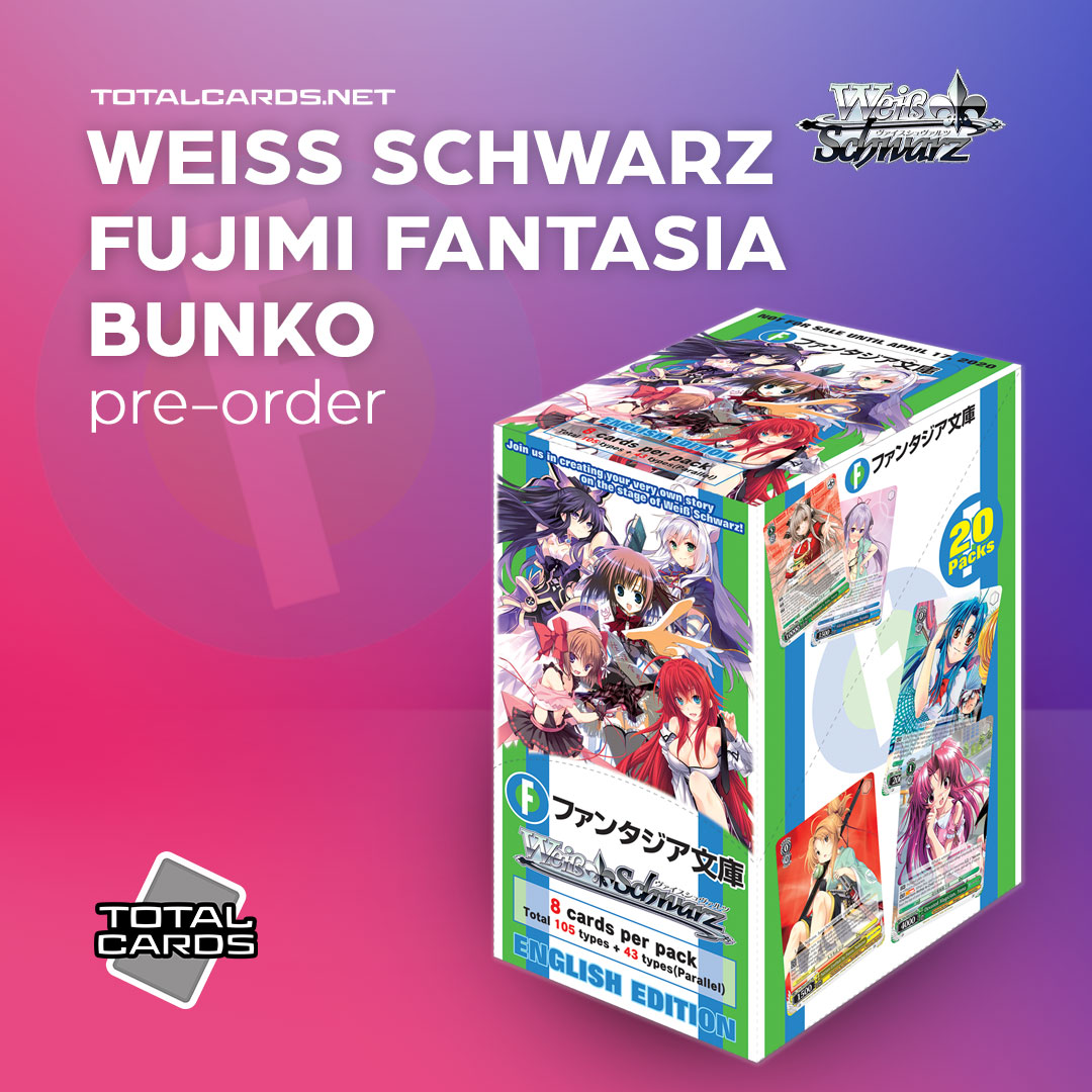 Weiss Schwarz Fujimi Fantasia Bunko is Available to Pre-Order