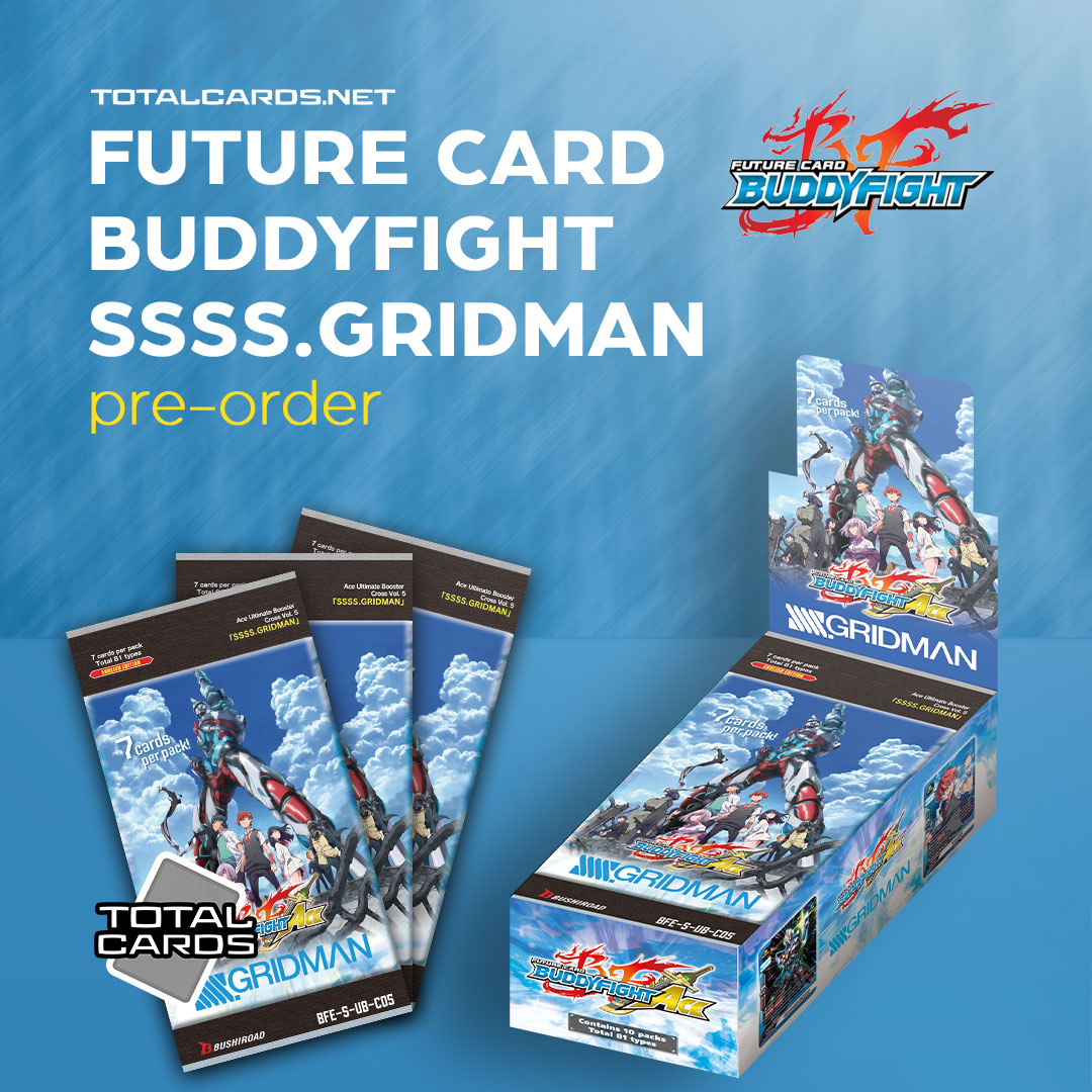 Future Card Buddyfight SSSS.GRIDMAN is out this Friday!!!