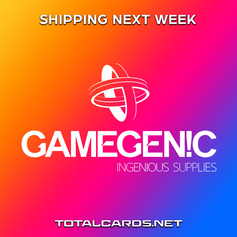 Gamegenic TCG Accessories Shipping Next Week!