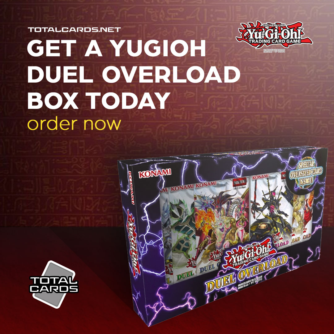 Get a Yu-Gi-Oh Duel Overload Box Today