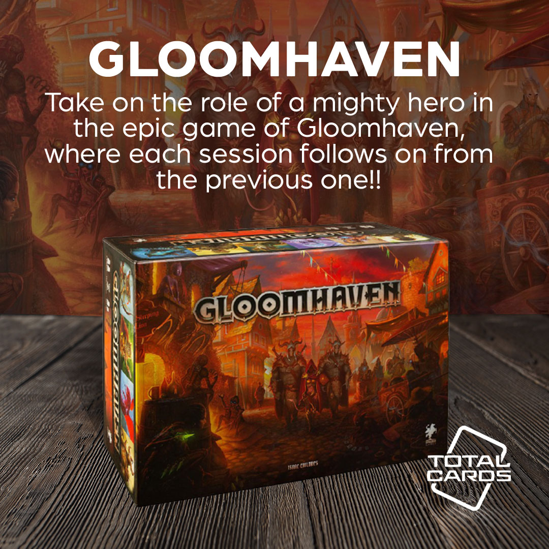 Become a mighty hero in Gloomhaven!