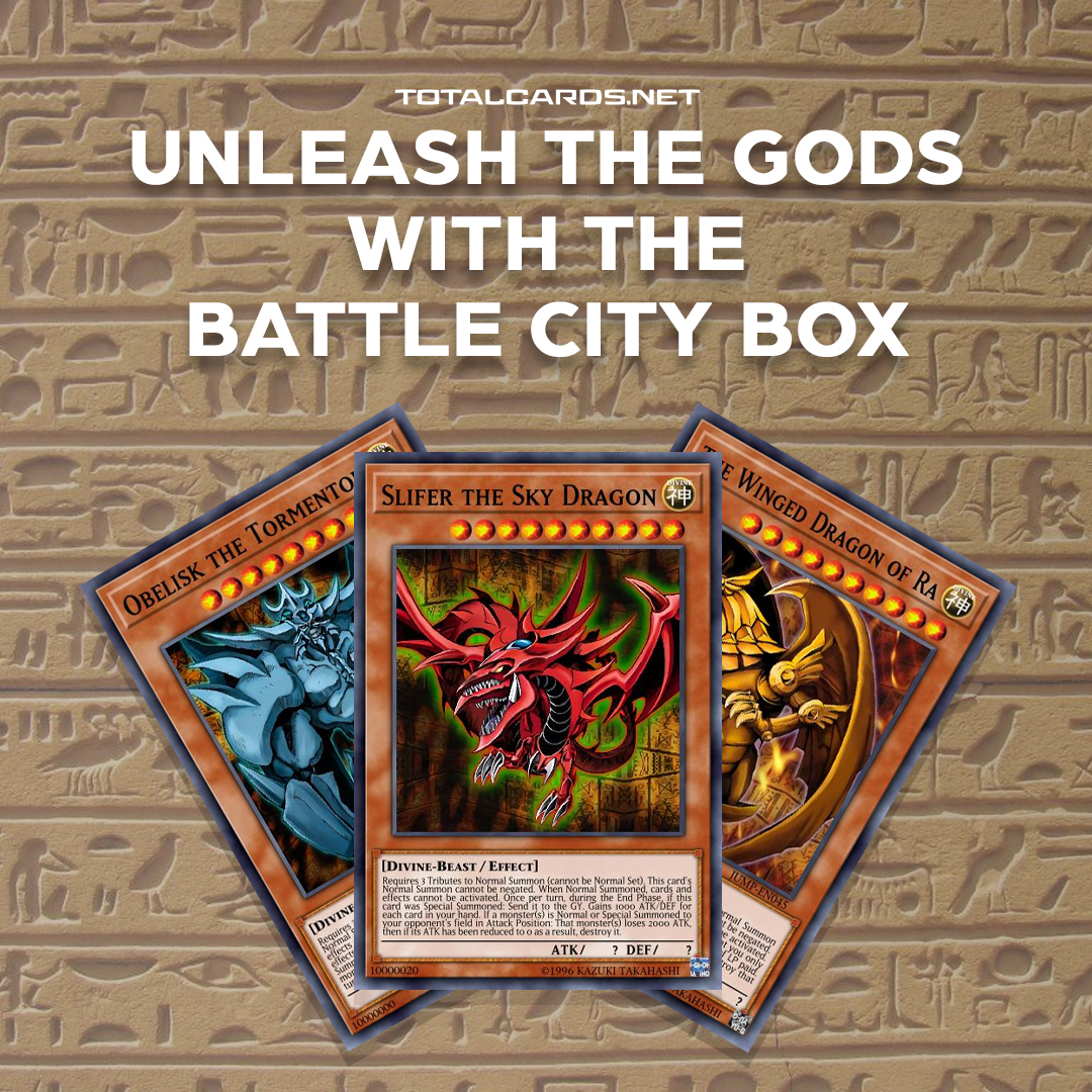 Unleash the Gods with the Battle City Box!
