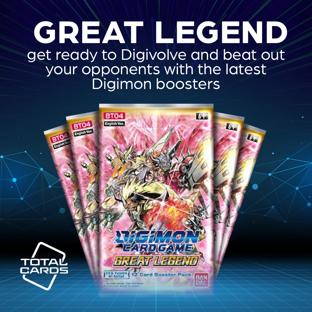 Digimon is expanding with the release of Great Legend!