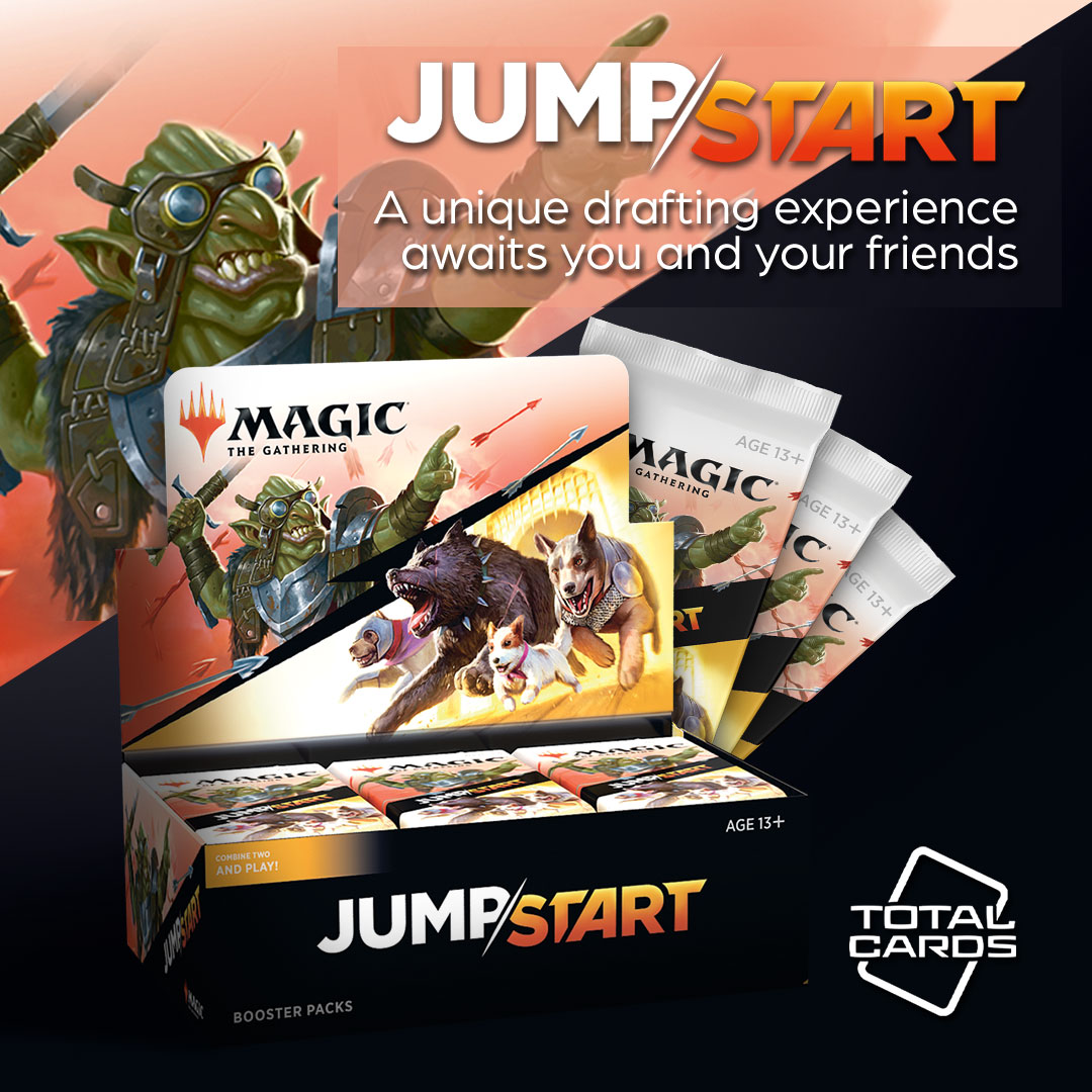 Take part in a super quick draft in Jumpstart!
