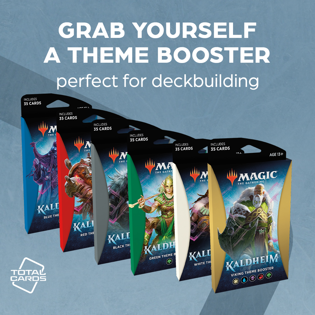 Boost your deck with these awesome Kaldheim theme boosters!