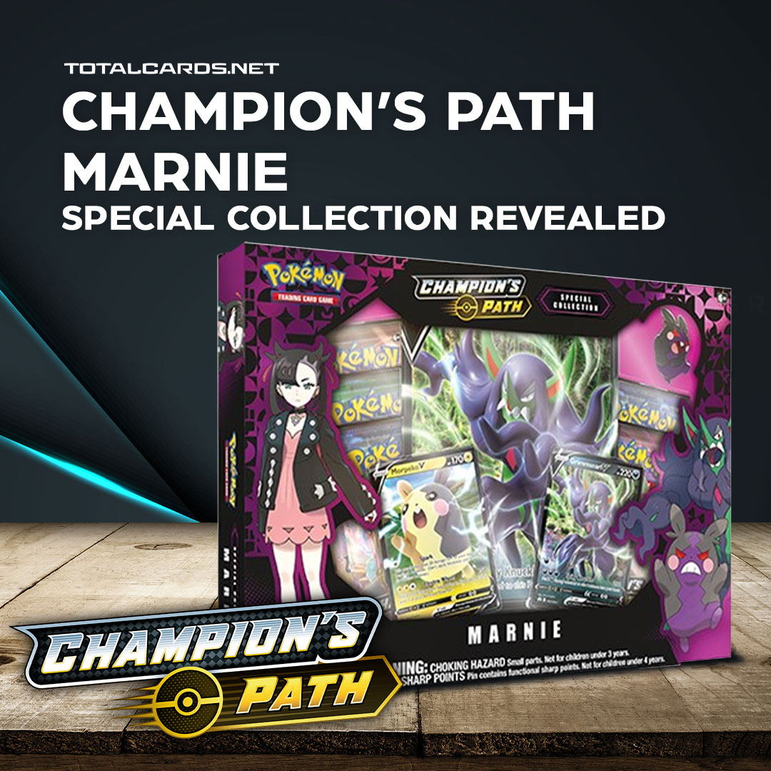 Pokemon - Champions Path Marnie - Special Collection Revealed!
