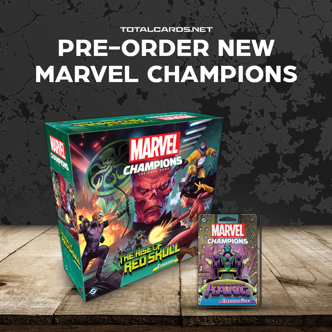 Marvel Champions Rise of the Red Skull & The Once and Future Kang Now Available to Pre-Order