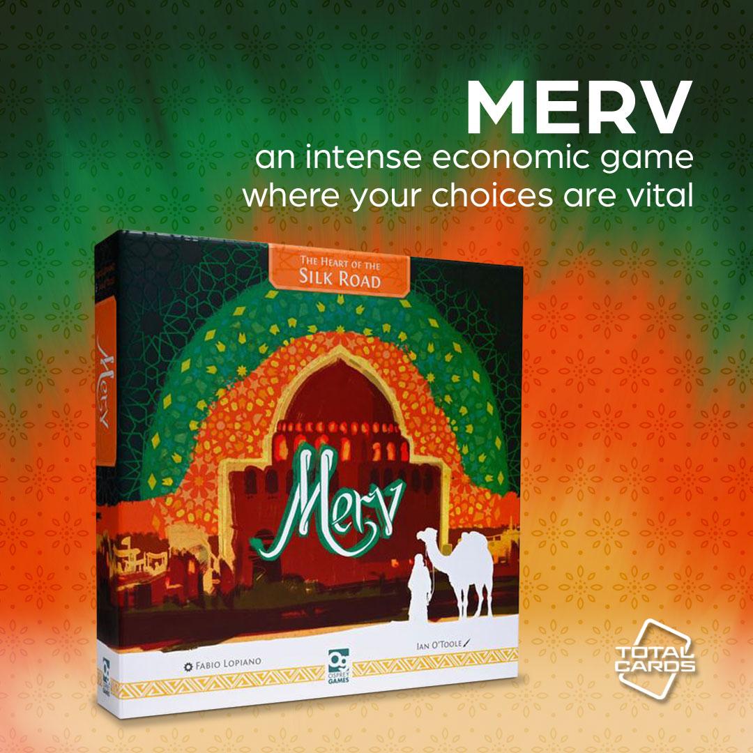 Gain untold riches in Merv - Heart of the Silk Road!
