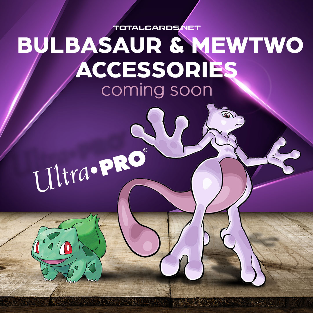 New Pokemon Accessories From Ultra Pro Revealed!